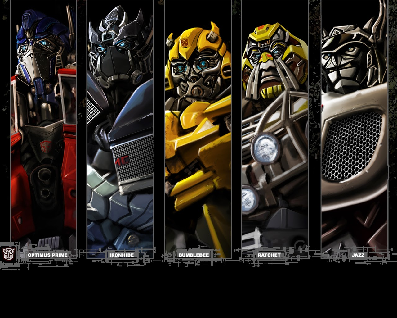 wallpapers transformers autobot - beauty walpaper