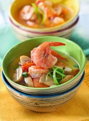 Resep Cara Membuat Sup Udang Asam Manis