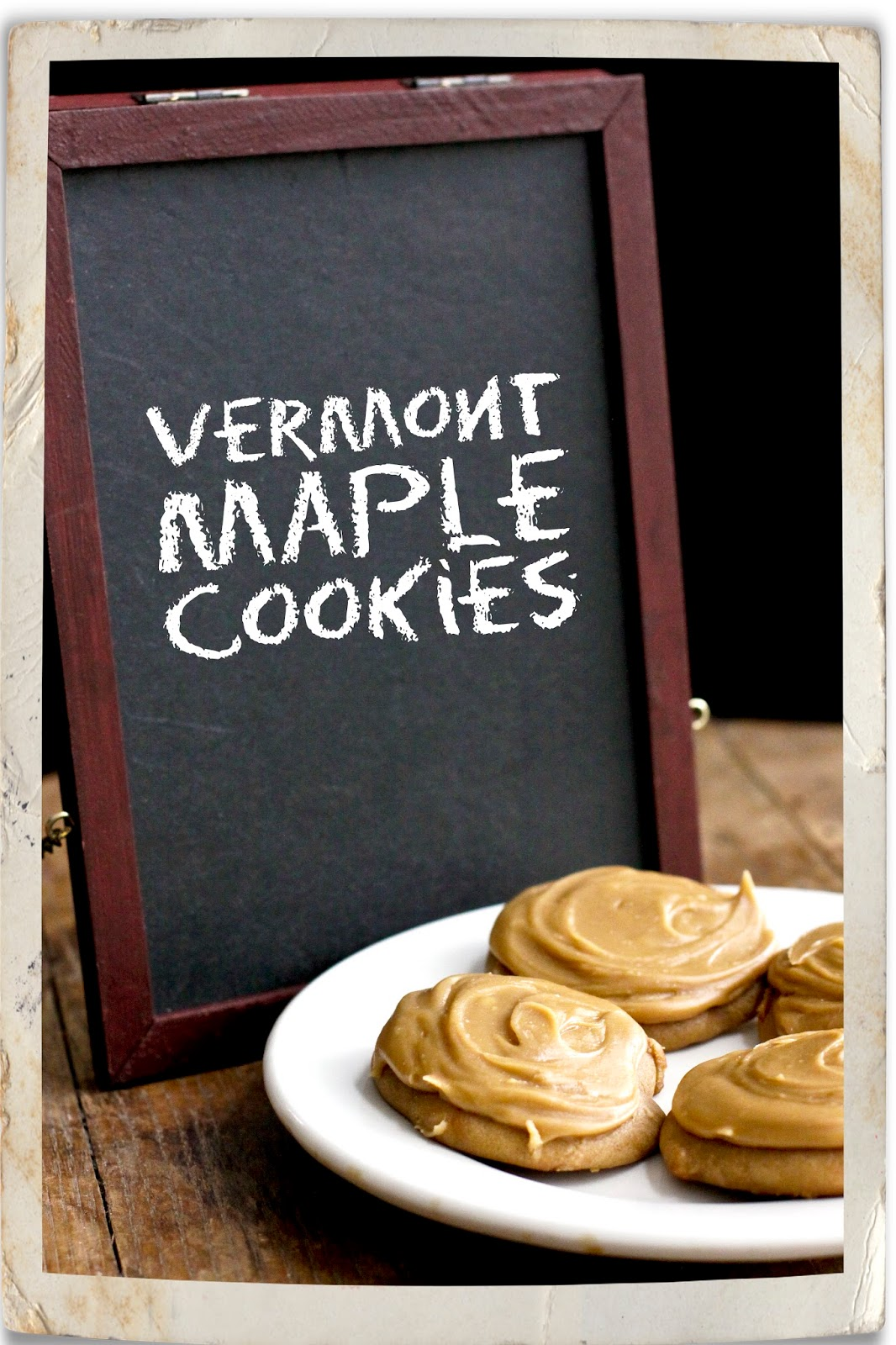 carly tee: cookie #18: vermont maple cookies