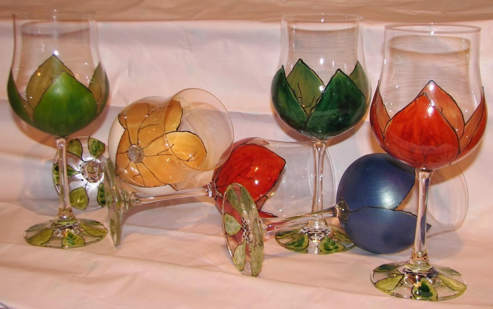 Cadeaux originaux vitrail et peintures sur verre peinture for Peinture pour table