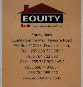 HALLO ! BANK WITH EQUITY BANK.