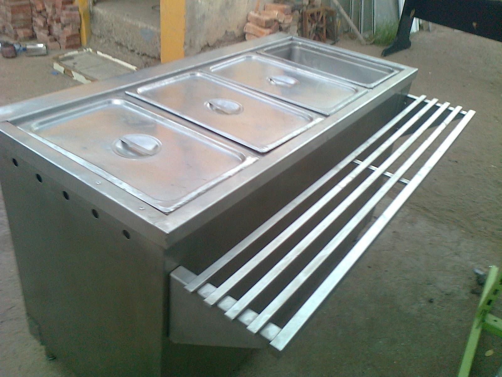 Gmetales restauracion de cocina industrial ba o maria y for Bano maria industrial