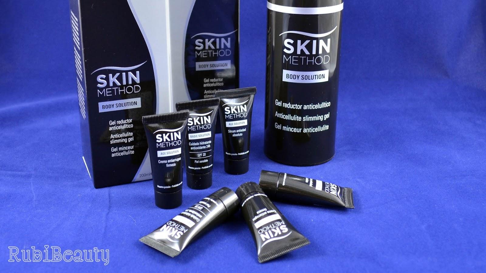 rubibeauty review beautyfever 2015 productos haul muestras skin method