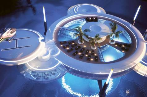 Hoteles turismo y viajes water discus hotel un hotel for Hoteles bajo el agua espana