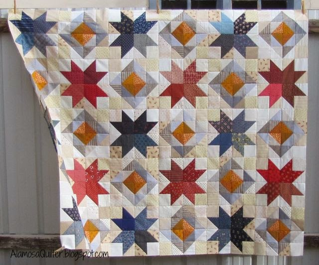 Quilt Patterns For Quilts Of Valor : Alamosa Quilter: Star Value Quilt of Valor Top