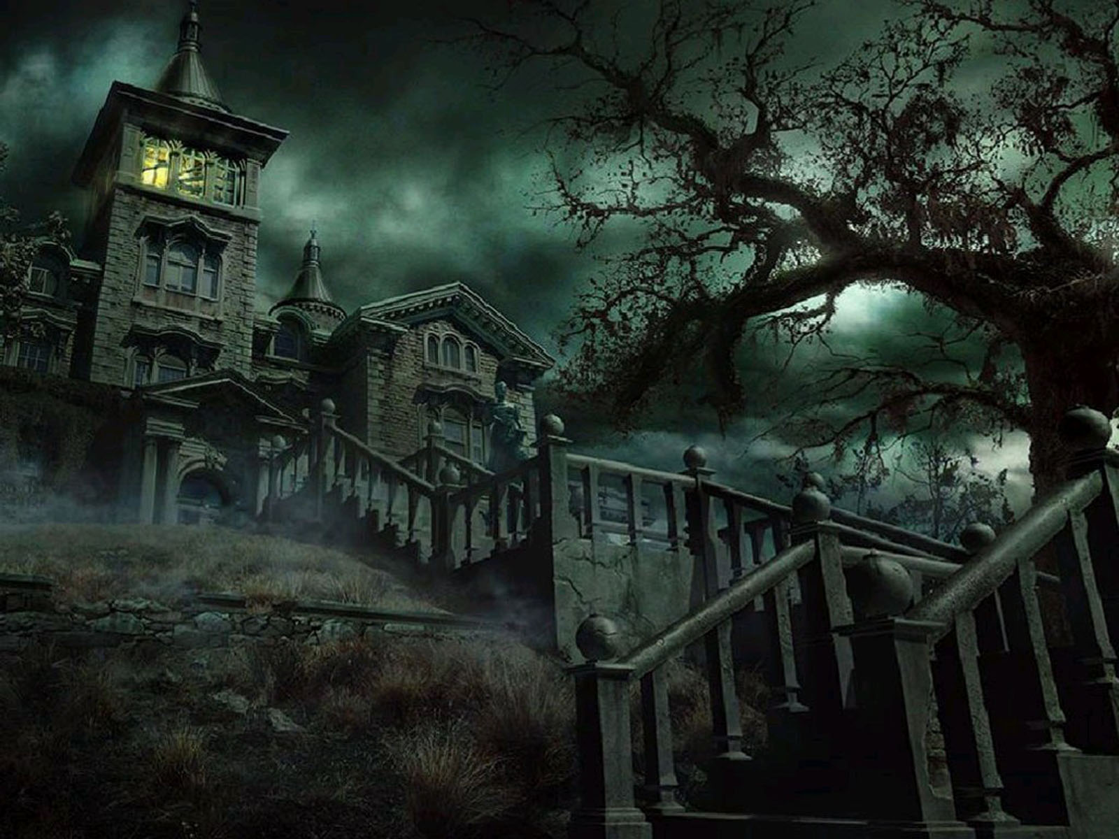 Blogspot for writer eric j guignard introduction to the horror genre for Classic haunted house movies