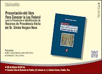 Presentación de Libro en Puebla 6 de febrero