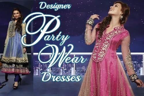 designer party wear dresses 20142015 embroidered