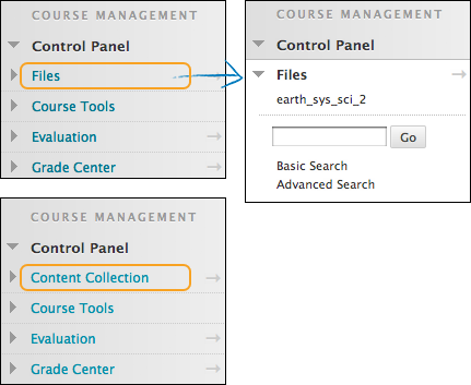 Blackboard Control Panel Changes | Blackboard Control Panel