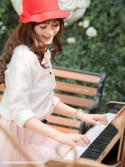 Hotgirl Châu Dương xinh đẹp dịu dàng