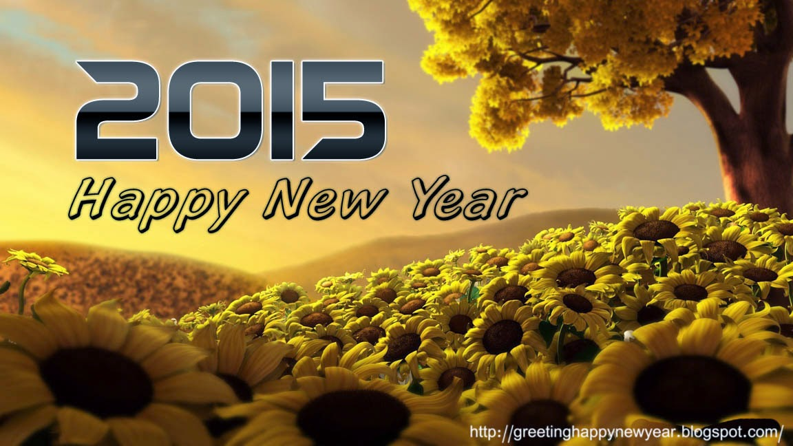 New Beautiful Happy New Year Cards 2015 – Free Photo Cards