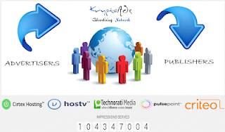 Earn with KryptoAds Networks as Publisher