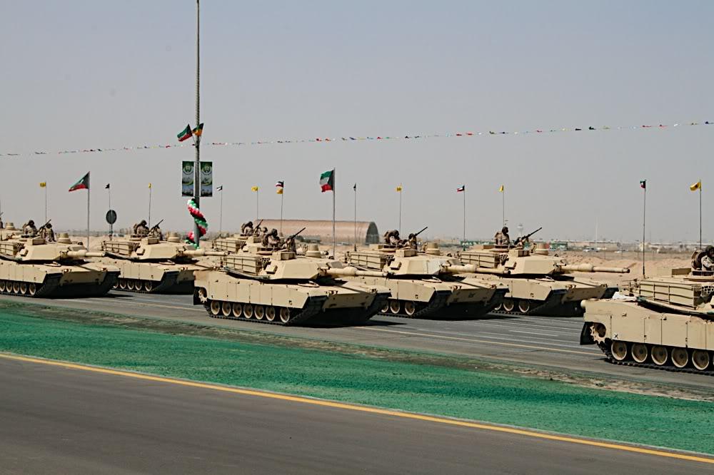 Armée Koweïtienne  Kuwait+M1s