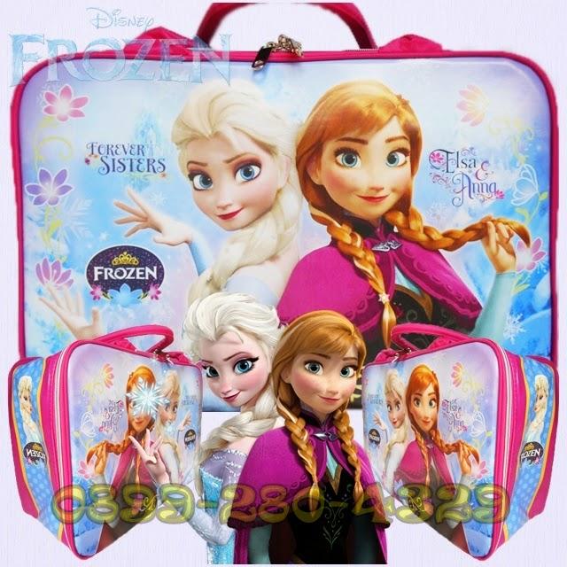 Travel Bag Karakter Frozen Harga Grosir