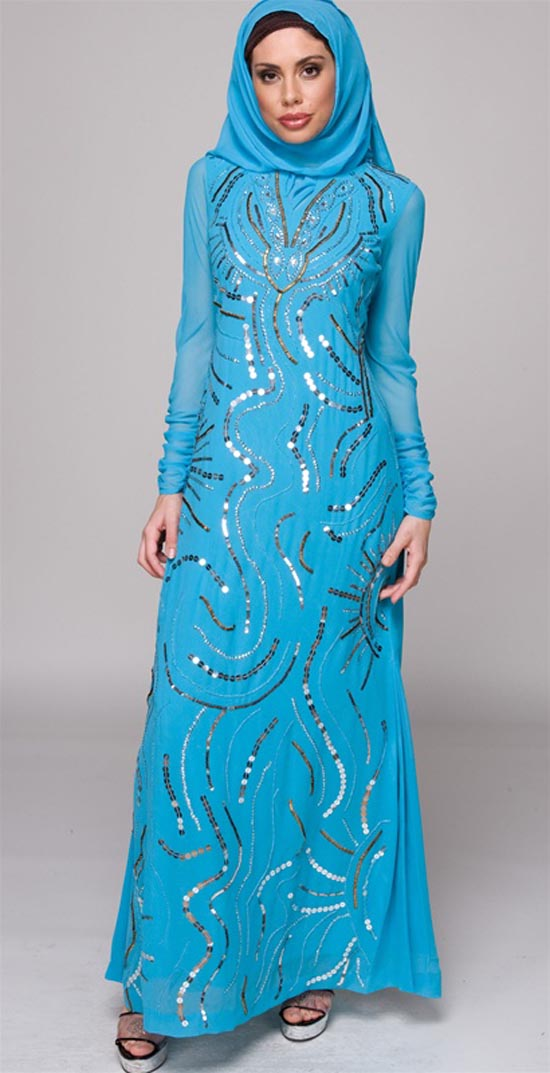 Model Maxi Muslim Dress According To The Latest Fashion Trends