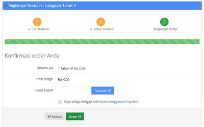 Cara Membuat Domain TLD Gratis dari Idhostinger Tidak Perlu Bayar 100% Gratis!!!