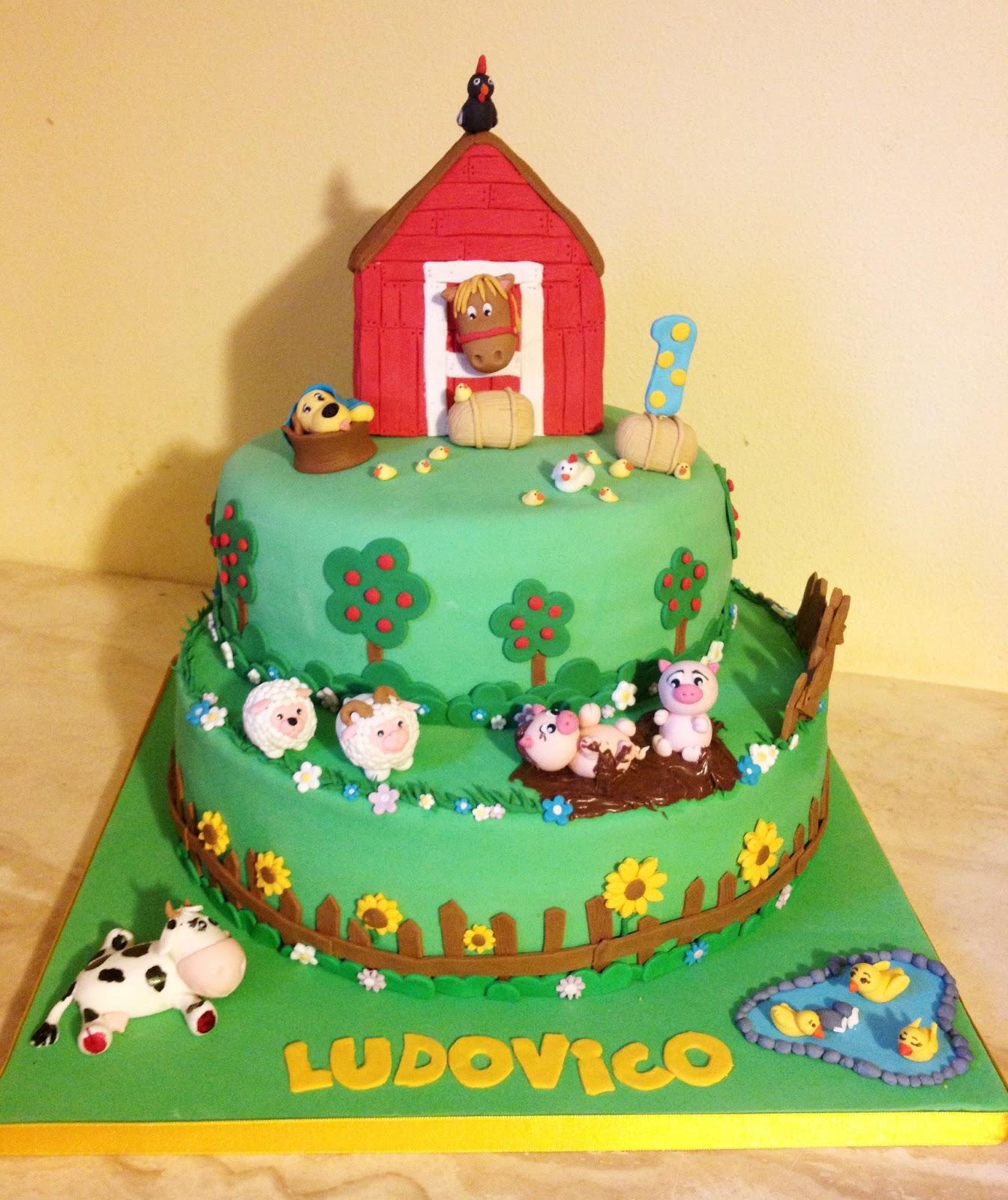 Paola alix in cakes torta fattoria for Piani di fattoria personalizzati