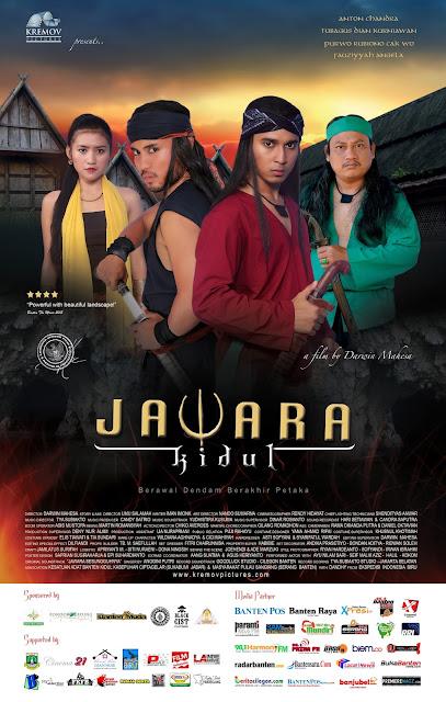 RILIS : Poster Film Jawara Kidul