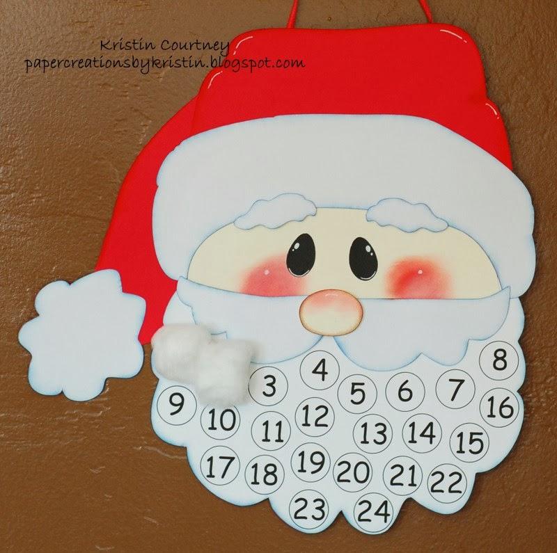 800 x 795 jpeg 108kB, Santa Face Template Cotton Balls Santa countdown ...