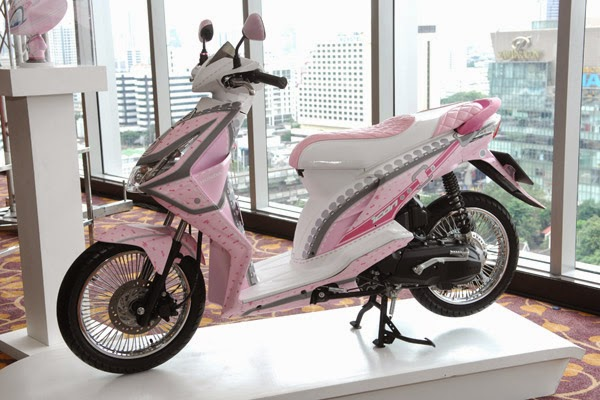 Honda Beat Modifikasi