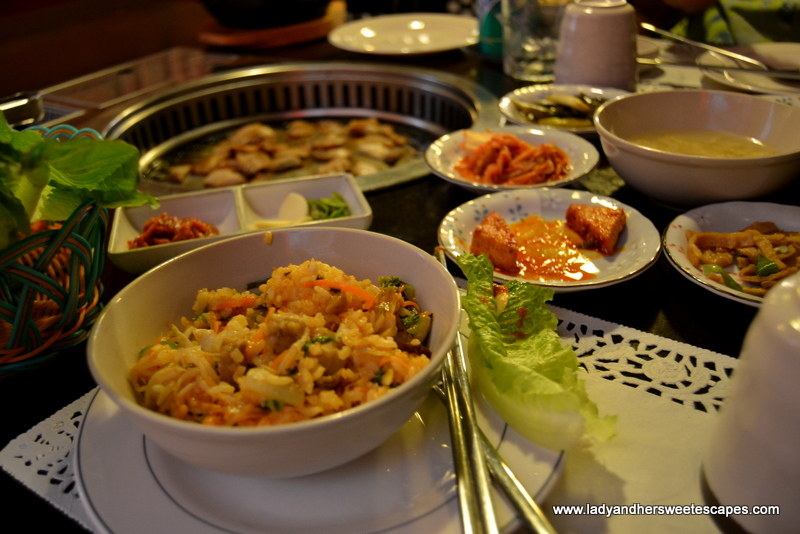 authentic korean cuisine at hyu restaurant lady her