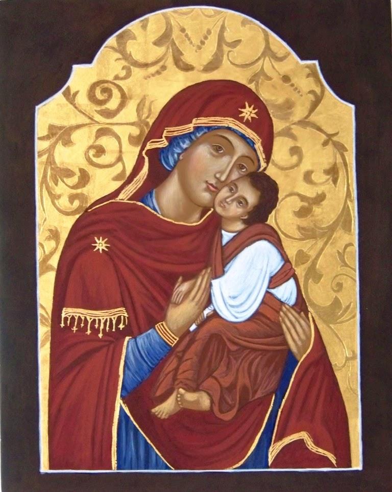 Matka Boska Pięknej Miłości ikona