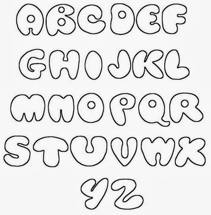 Gallery For gt Graffiti Fonts Bubble Letters