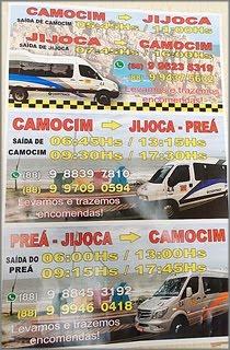 COOPITRACE COM ROTA: CAMOCIM - JIJOCA - PREÁ, IDA E VOLTA