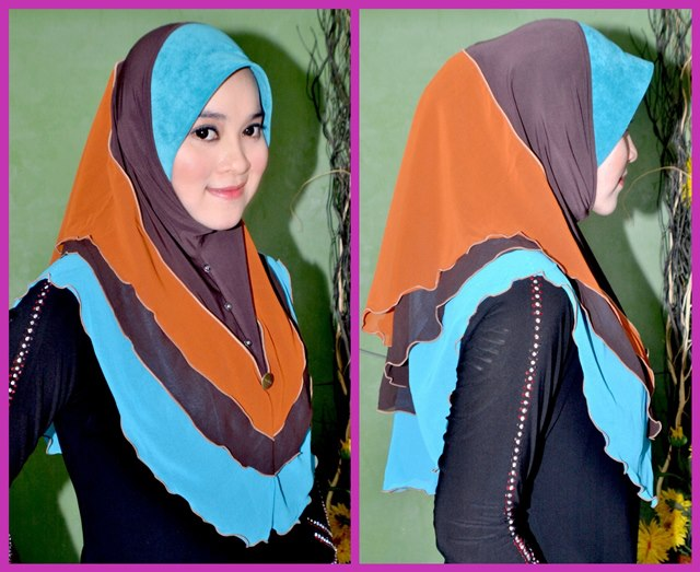 TUDUNG ALA JELITA SARA (PLAIN) by HASANAH COLLECTION