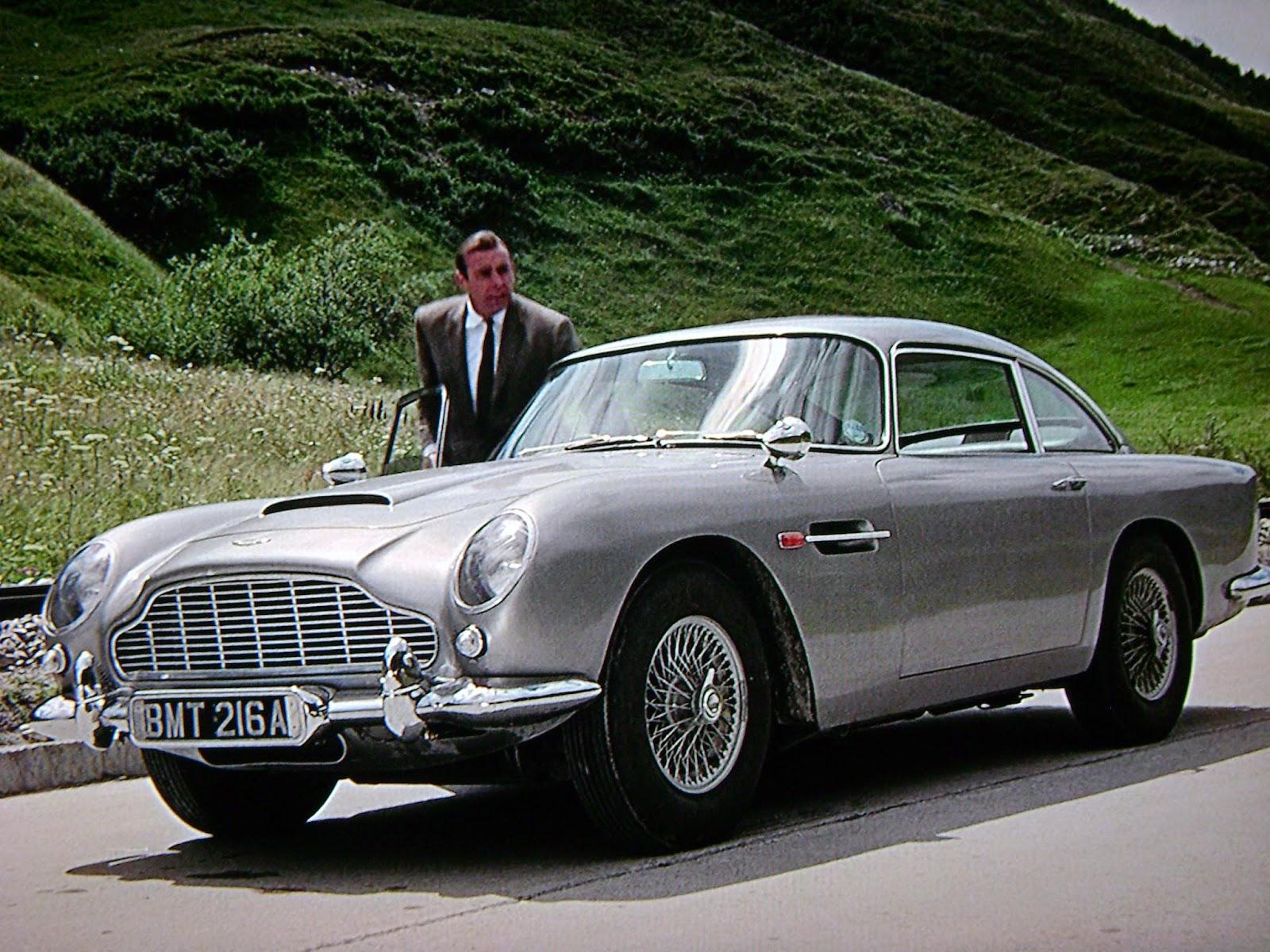 007 Vehicle Aston Martin Db5 Goldfinger on Number Line 1 100