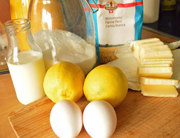 refreshing lemon cake