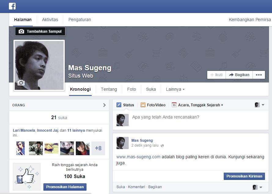 Fan Page Mas Sugeng