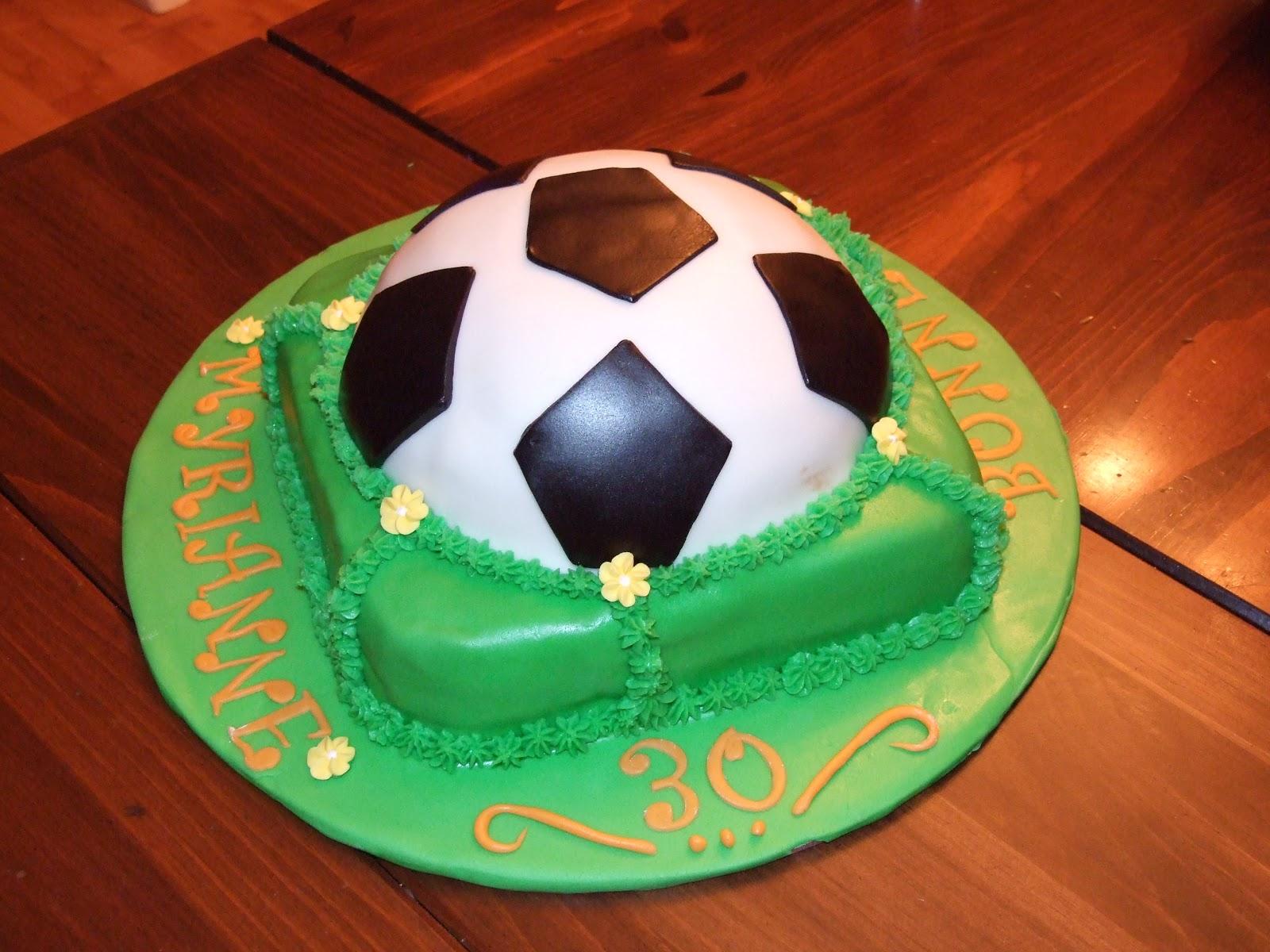 Aux Papilles Sucrées: Gâteau Soccer