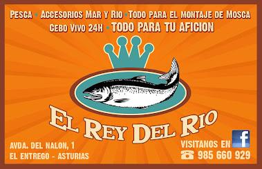 En El Entrego (Asturias), todo para la pesca...