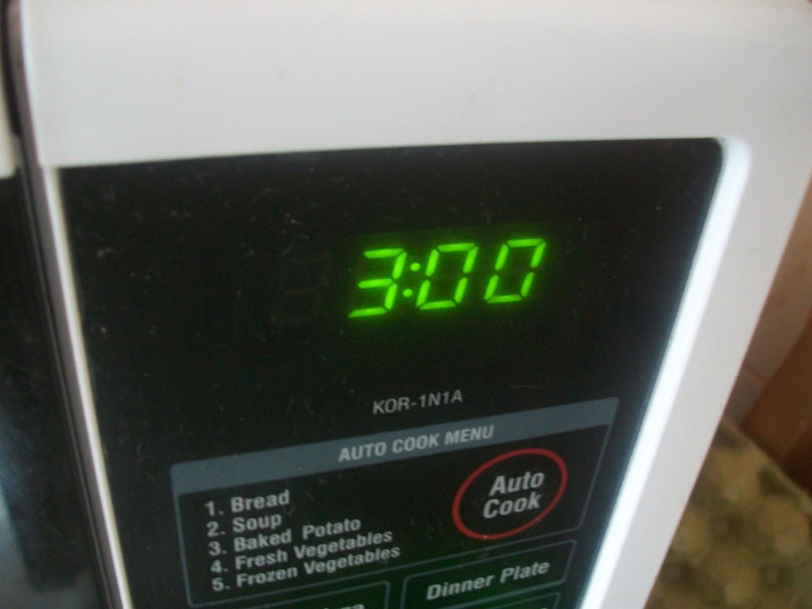 set 3 minute timer