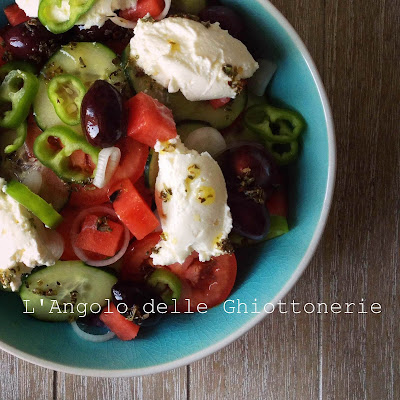 greek salad rivisitata