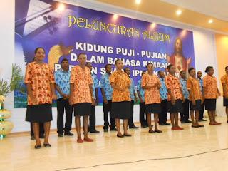 Album Kidung Pujian Rohani Bahasa Kimaam Diluncurkan