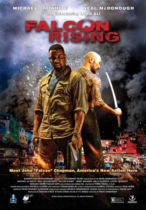 مشاهدة فيلم Falcon Rising 2014 , فيلم الاكشن والمغامرات الرائع المنتظر
