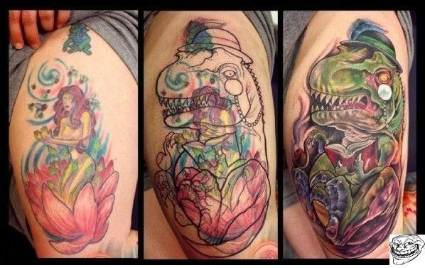 The Best Tattoo Cover Up I've Ever Seen!