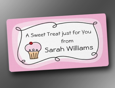 A treat for you personalized kitchen labels