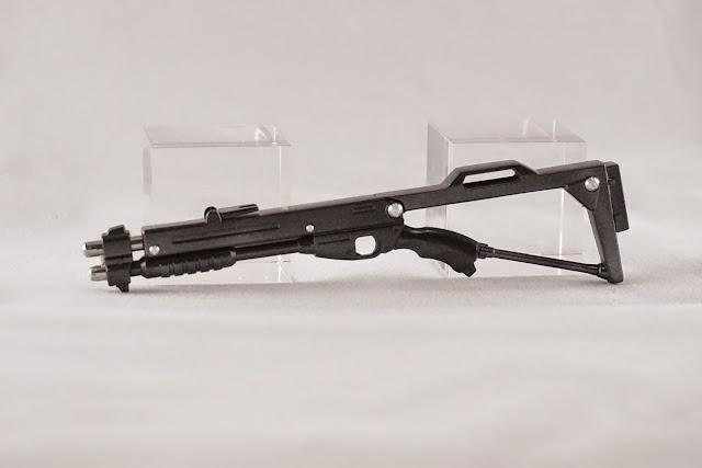 메탈 디테일업 파츠로 제작된 건프라 MG 캠퍼의 Shotgun