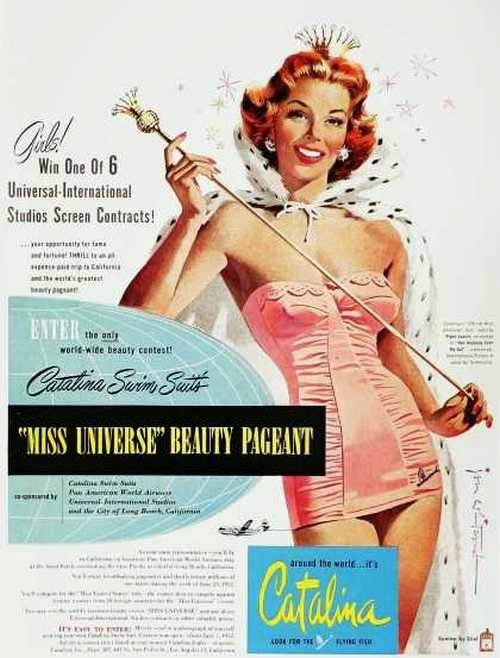 1950s Catalina Beauty Pageants