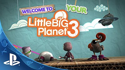 LittleBigPlanet 3 (Game) - Gamescom 2014 - Create and Share Trailer - Song / Music