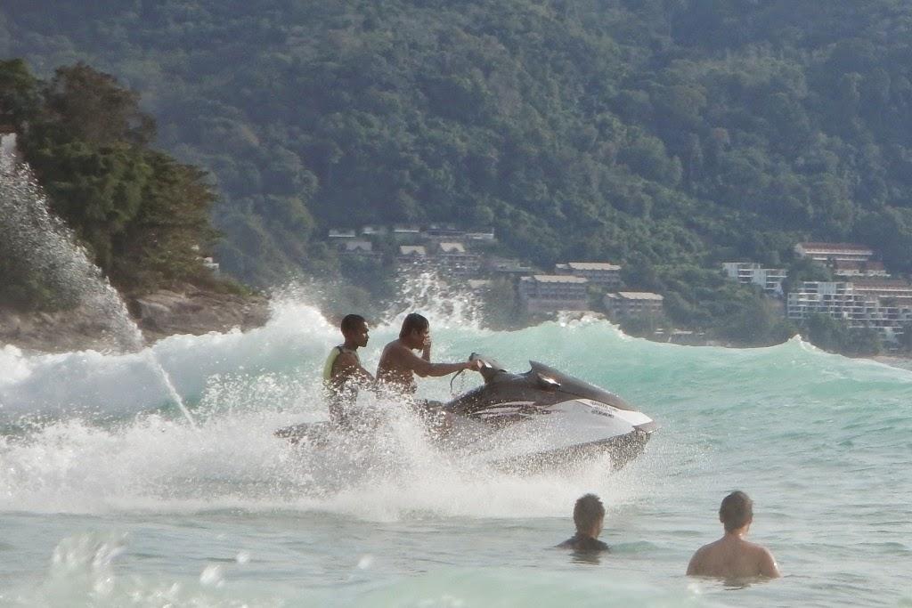 Suring Beach Phuket jetski