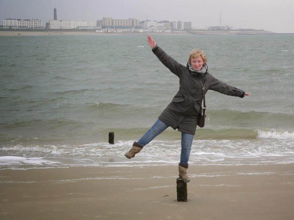 Wochenende Winter Urlaub Insel Meer Wasser Pfosten Skyline Promenade