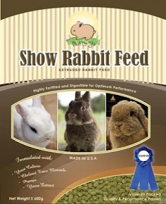 rabbit Feed in my Rabbitry
