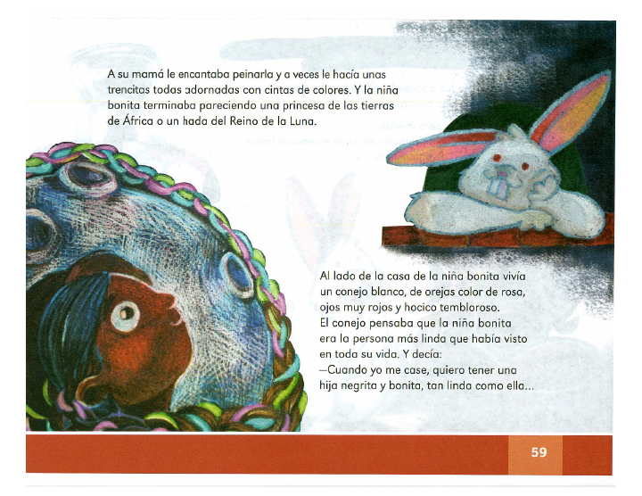 Niña bonita español lecturas 2do bloque 5/2014-2015