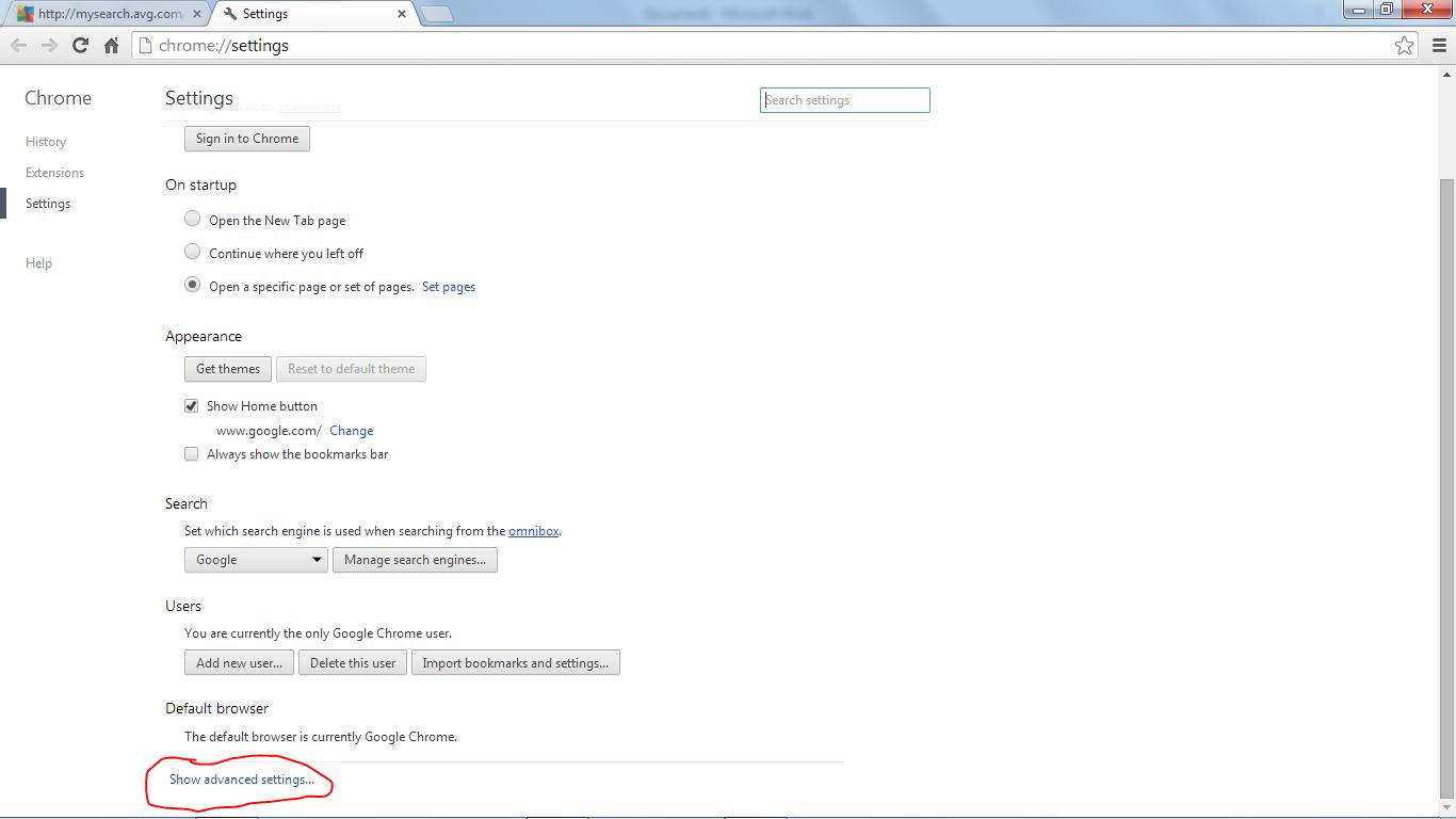Newbie agustus 2014 2 lalu pilih show advanced settings ccuart Gallery