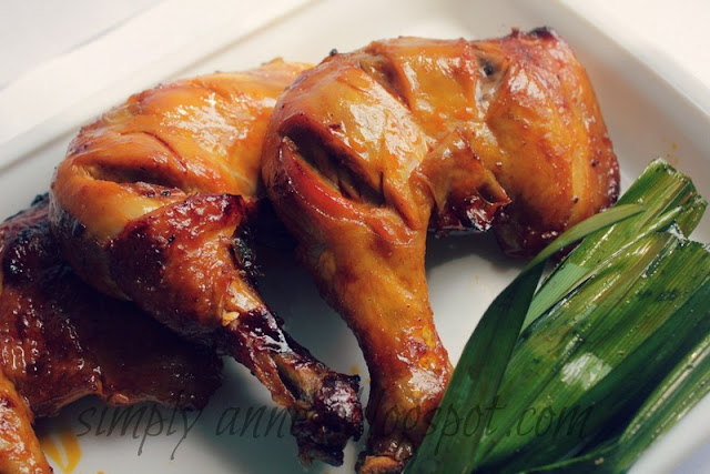 Chicken Inasal Filipino Dish