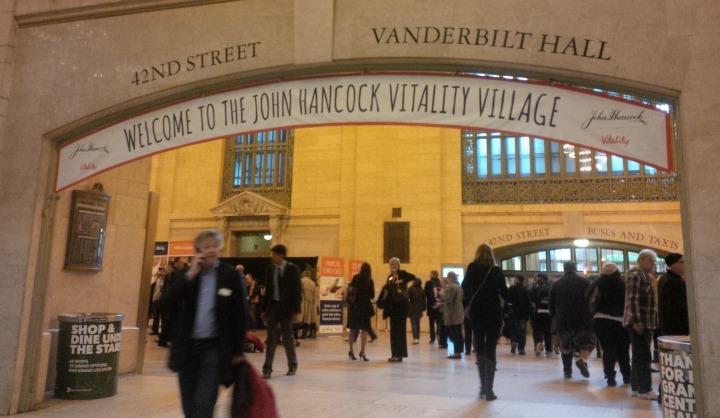 John Hancock Vitality Village Event + Get #5MoreNow